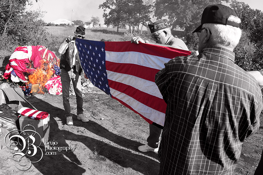 Flag burning 1 copy