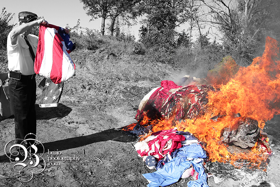 Flag burning 3 copy
